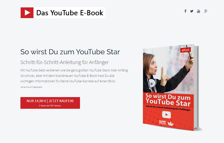Beispielgrafik Youtube E-Book