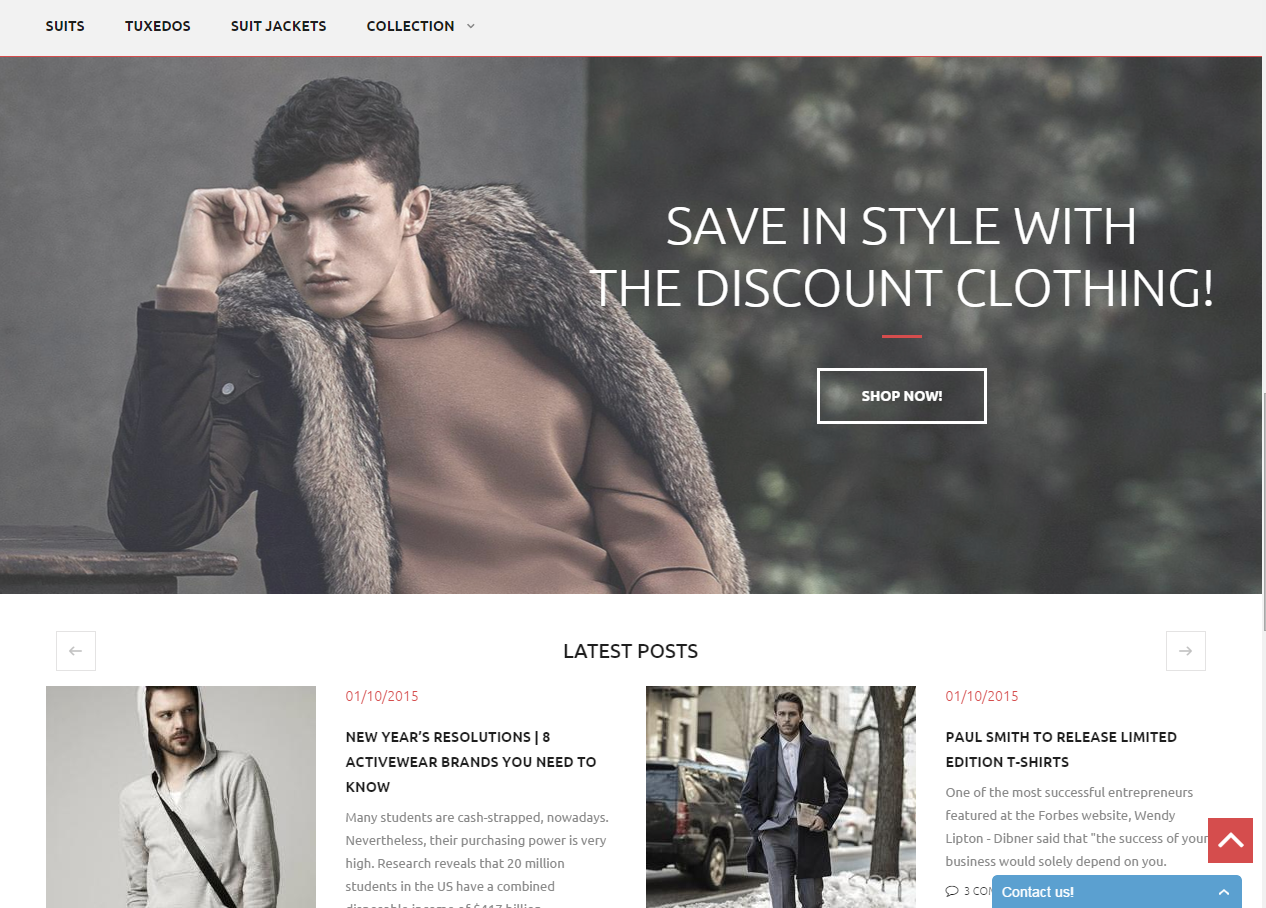 Magento Theme Wordpress