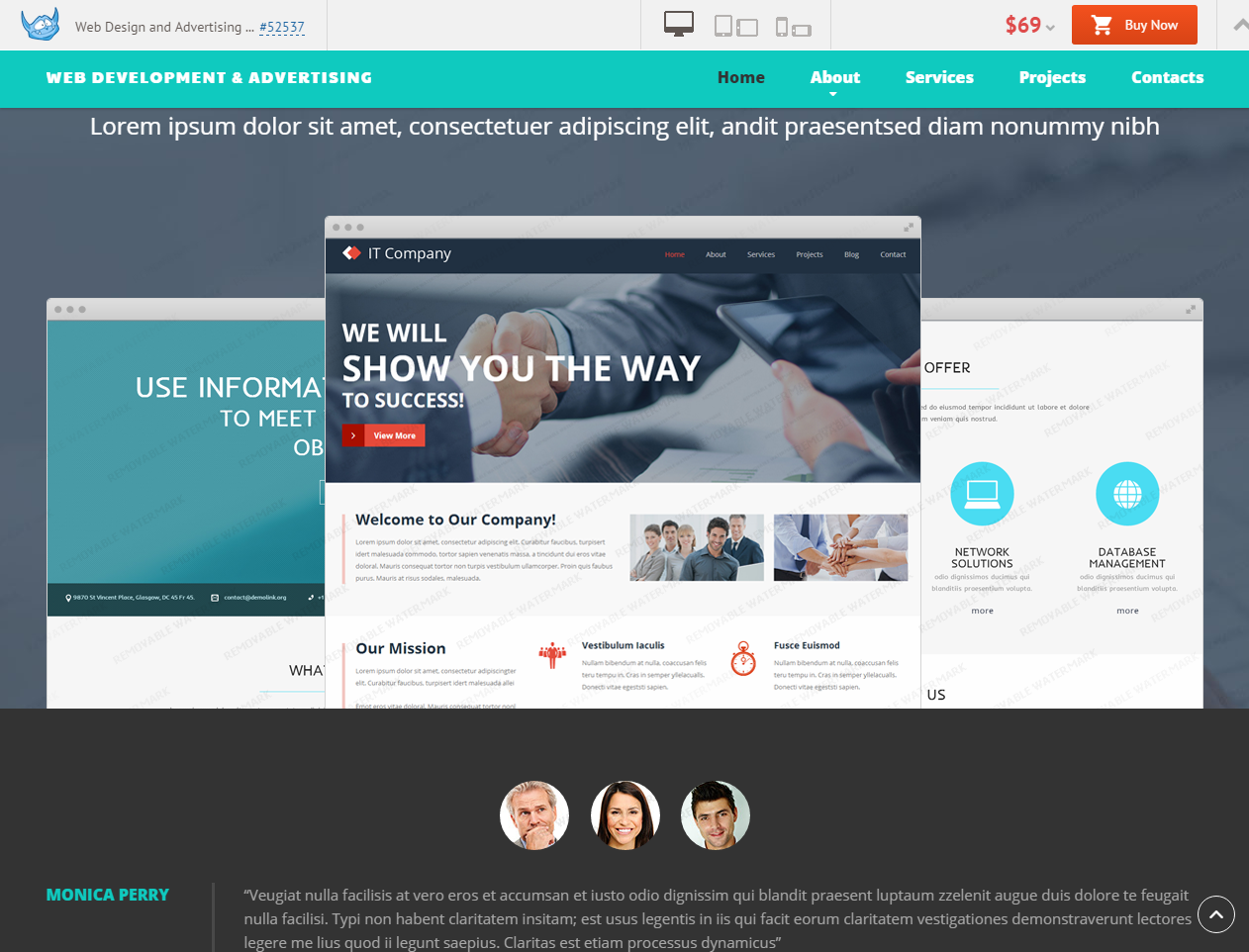 Webdesign Theme Wordpress