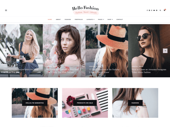 wordpress-theme-hello fashion